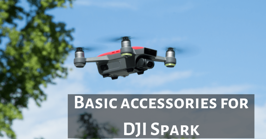 Basic Accessories for DJI Spark Drone